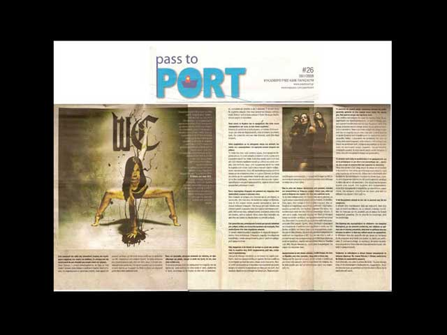 """George Wastor on """"Pass to Port"""" newspaper"""